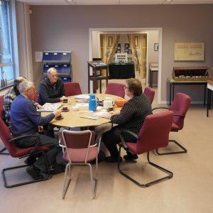 Bezoekersruimte Genootschapshuis Wieringermeer
