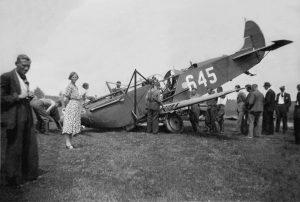 1940-05-12 Fokker CV 645 Slootweg Slootdorp bron Genootschap Wieringermeer