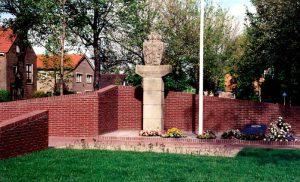 Het oorlogssmonument in Wieringerwerf