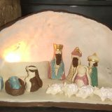 11 december tentoonstelling kerststallen.