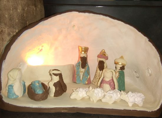 11 december tentoonstelling kerststallen