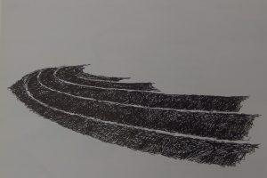 Elbrich Wind - Wartena, Aardappelruggen, pentekening