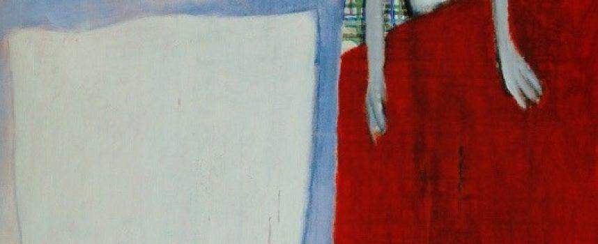 Kunstenaars Cora Vries en Mariet Lems maken indruk met Rode deken