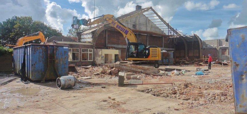 ZWM gebouw gesloopt