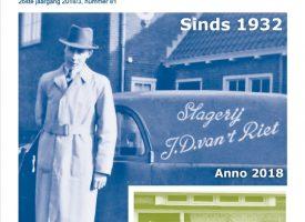 Kroniek 81: Verdwenen winkels  –  Kunstenaarsfamilie Braaf  –  Kijk op Kolhorn   –  Dr. Tamsmalaan  –   Ingebracht en uitgelicht  –  en meer