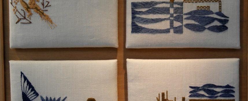 Nieuwe expositie in vitrines.