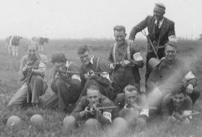 Wapentransportgroep Wieringermeer op 5 mei 1945