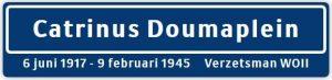 In Slootdorp komt het Catrinus Doumaplein, 24 april 2020