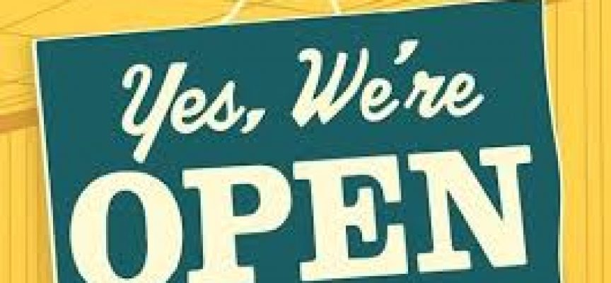 We gaan open op 12 juni 2021