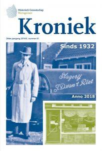 Kroniek, Periodiek van Historisch Genootschap Wieringermeer, nummer 81, 2018/3