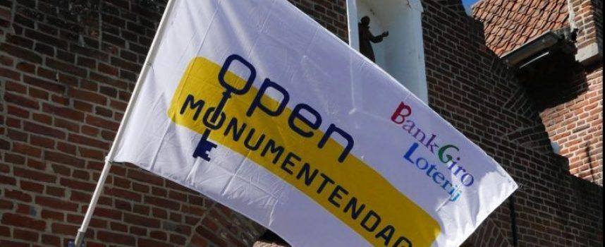Open Monumentendag 10 en 11 september 2021. Plan uw bezoek.