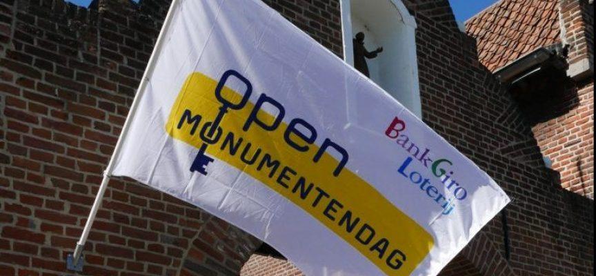 Open Monumentendag 2021. Doet uw monument mee?